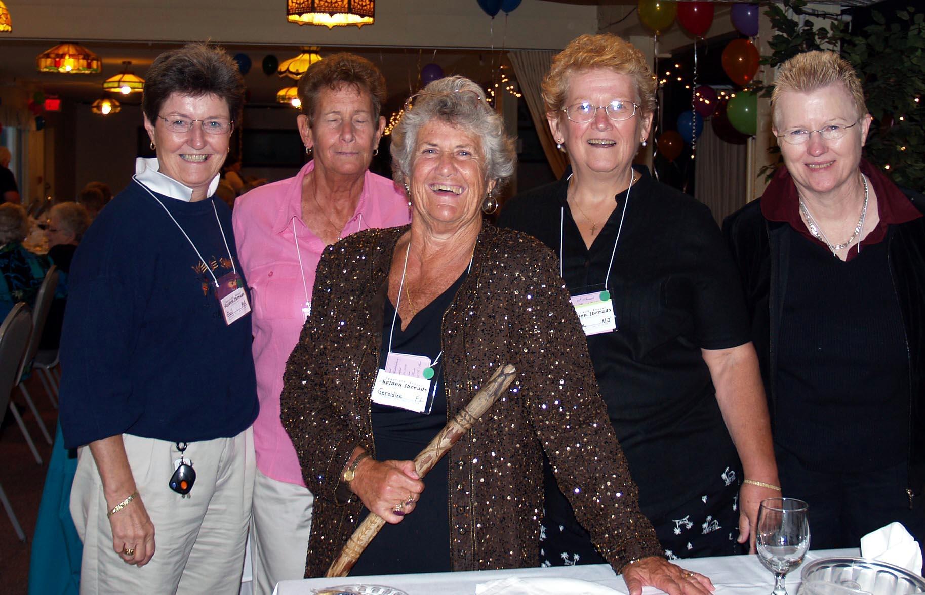 golden threads celebration for older lesbians women of golden threads